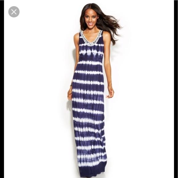INC International Concepts Dresses & Skirts - INC tie dye maxi dress